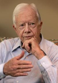 Carter: US, EU must bring Hamas and Fatah together