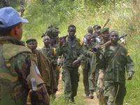 Government army battles rebels in east Congo