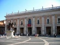 Capitoline Museum displays bronze horse