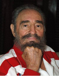 Cuba releases new pictures of healthy Castro to celebrate his 80th birthday