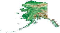 USA: Alaska's highway in fire