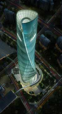 Shanghai Center to become one of world's highest skyscrapers