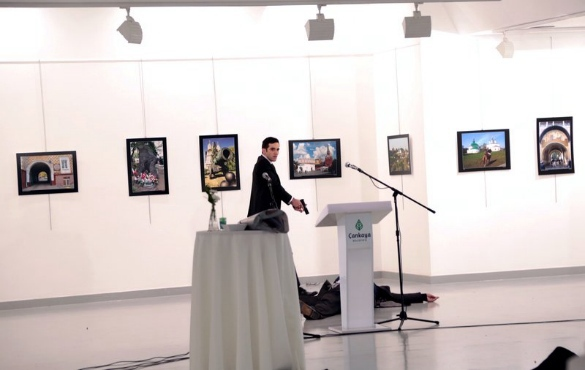 Who orchestrated annihilation of Russian Ambassador in Ankara. Ankara