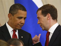 Medvedev and Obama are Optimistic Over Arms Control Deal