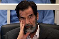 Saddam Hussein's trial for genocide against Kurds resumes
