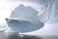 Air warming above Antarctica