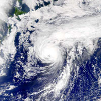 Strong typhoon ravages Japan's Okinawa