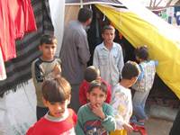 Palestinians fleeing Iraq living in harsh conditions