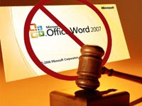 Appeals court Stays Microsoft Word Injunction