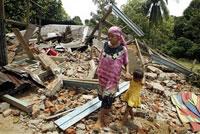 Undersea earthquake rocks Indonesia's Sumatra