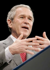 Bush to prove war opponents wrong