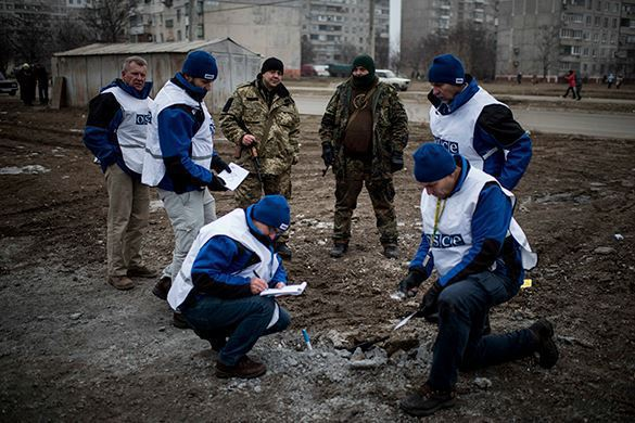OSCE mission in Ukraine says bloodshed in Donbass intensifies. 54484.jpeg