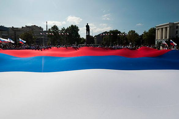 Most Russians proud of Russia, little concerned about so-called 'isolation'. Russians proud of Russia