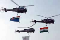Global aircraft makers lobby defense officials as India's biggest air show opens