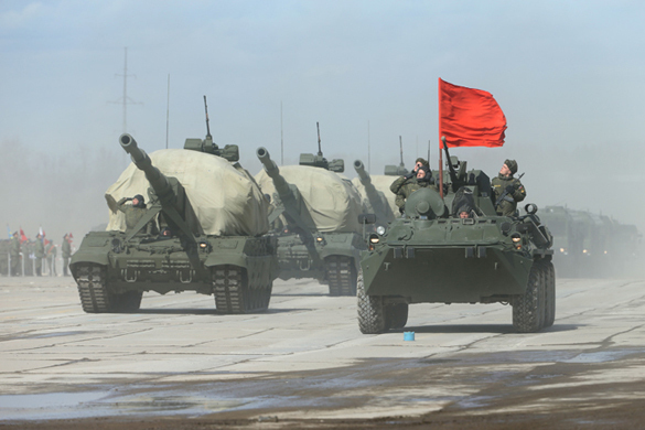 Russia uses state-of-the-art BTR-82A armored vehicles in Tajikistan. 58485.jpeg