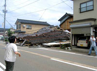 Earthquake in Japan triggers fire at nuclear power plant