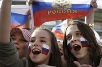 Russia's recent football victories not enough to improve nation's international image
