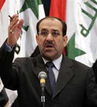 Iraqi leader tells aides U.S. benchmark deadline is June 30 or his ouster possible