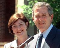 Bush and Premier of Denmark in talks