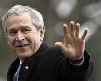 Bush cannot hide from mounting woes, whether at home or abroad