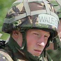 Prince Harry in Iraq: A helpless child in desolate country