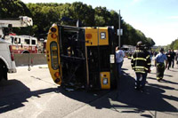 36 people suffered in bus accident in Romania