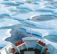 Cruise ship strikes ice off Antarctica