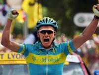 Rasmussen conquers Tour de France Alps
