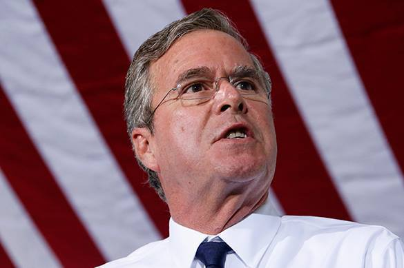 Jeb Bush: USA must show strength to stop Putin. Jeb Bush