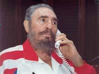 Castro says he met with Garcia Marquez