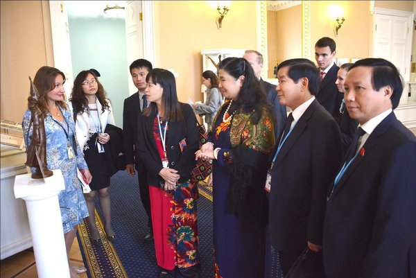 Eighty states praise high level of Hands Woman project presentation at Eurasian Women's forum. 56497.jpeg