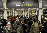 Eurostar Trains Caught in Winter Chaos in Europe
