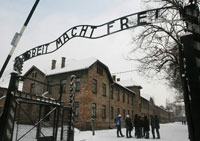 Stolen Auschwitz Gate Sign Found in Poland
