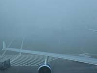 Fog strands thousands of passengers as holiday chaos sets in at Heathrow