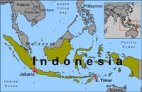 Earthquake strikes off eastern Indonesia: no threat of tsunami, officials say