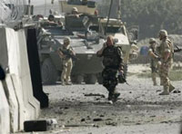Suicide bomber kills six Afghans instead of Italian soldiers