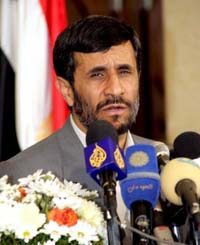 US intelligence report softens Ahmadinejad