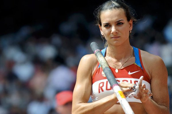 Pole vaulter and flying queen Isinbayeva not allowed to take part in Rio Games. 58507.jpeg