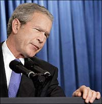 Bush, the religious right and end times