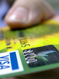 Visa credit card transactions have technical problems