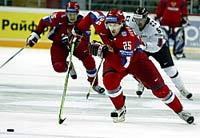 Russia beats Swiss 6-3 to stay undefeated at the World Championship