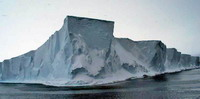 Wilkins Ice Shelf disintegrating