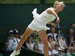 Maria Sharapova won Wimbledon quarterfinals