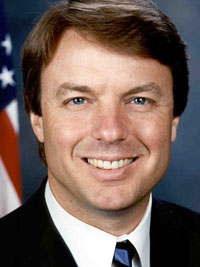 Democratic presidential candidate John Edwards urges to fight poverty across America