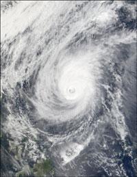 Typhoon Mitag veers toward northern Philippines
