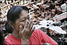 Many Indonesians have psychological trauma after quake