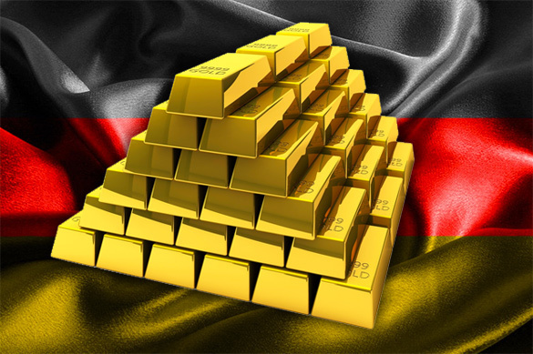 Germany takes back its gold from US. Gold