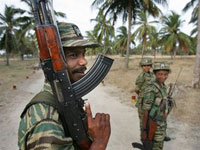 Thirty two rebels killed in gunbattles in Sri Lanka