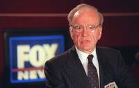 Rupert Murdoch's Fox Business Network advertises itself at party in Metropolitan Museum of Art