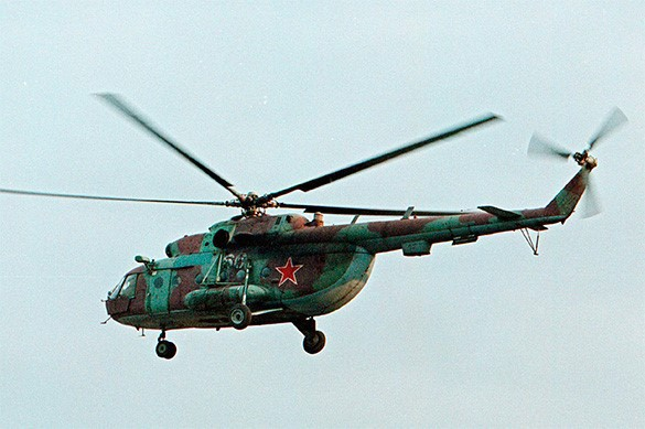 Russian Mi-8 helicopter shot down in Syria, all aboard killed. 58521.jpeg